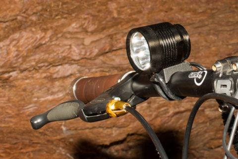 ØM3 mounted on a MTB